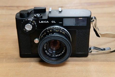LEICA CL と SUMMICRON-C 40mm F2